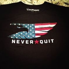 """Never Quit. Inspired by Marcus Luttrell's motto """"Never Quit"""" and the Navy SEAL creed."""