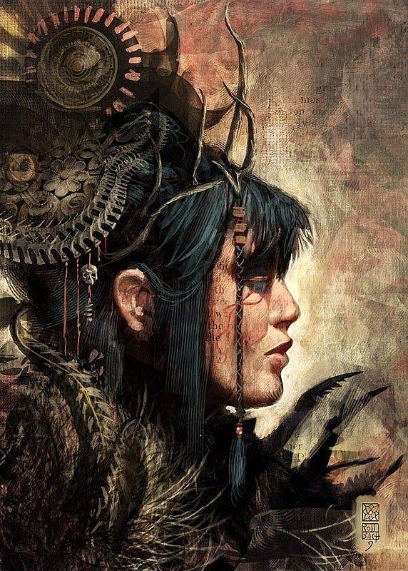 Kamrusepas es el hitita diosa de la curación y la magia. Ella era capaz de curar la parálisis y otras enfermedades, por desatar la enfermedad del adorador. Cuando la fertilidad Dios Telepinu había dejado el mundo en una rabia, lo que resulta en una hambruna generalizada, era Kamrusepas que finalmente fue capaz de dominar su ira con sus rituales. Después de calmarlo con miel y frutas, su magia capturado y desterrado su ira al inframundo. (Obra: Medb, por Livingrope)