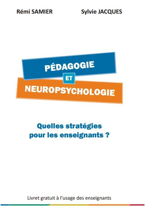 Brochure sur les stratégies à mettre en pratique en classe pour aider les enfants en difficultés.