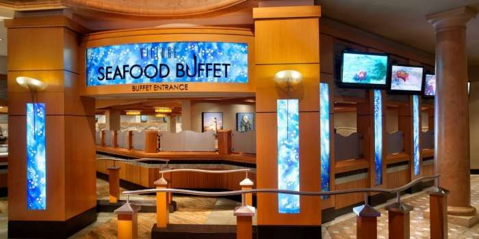 Rio-All-Suites Hotel village seafood buffet, Las Vegas