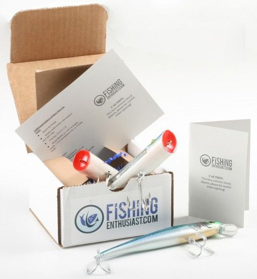 Saltwater Lure of the Month Club - The Perfect Fishing Gift for Dad, Grandpa, or any Fisherman!