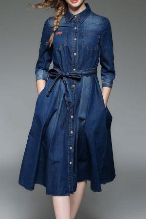 Shirt Dresses - Shop Long Shirt Dresses For Women Online | DEZZAL