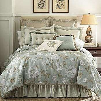 bedding with magnolias | JCPenney : Chris Madden Magnolia ...