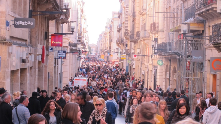 Rue St Catherine, Bordeaux...