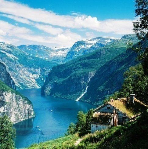 Geirangerfjord in Norway (September 2011)
