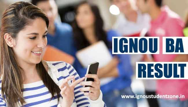 At IgnouStudentZone.in, check Ignou BA Result June 2017 for 1st, 2nd and 3rd year exams. Ignou BA term end result for June and Dec can be checked online.