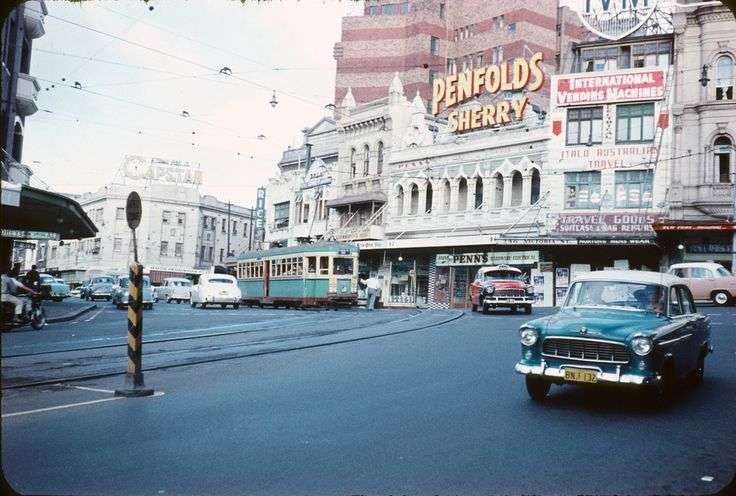 Bayswater and Darlinghurst road, King Cross, Sydney, Australia 1958.