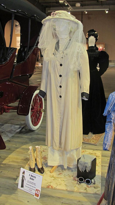 Fountainhead Antique Auto Museum: Edwardian Motoring Clothing