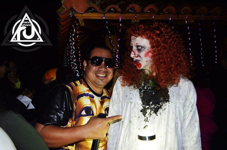 #Halloween #ReinoUrbano  www.showreggaeton.com
