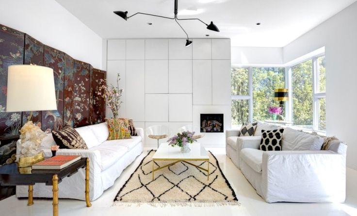am nagement petite chambre 50 salons de styles diff rents d co pinterest deux canap s. Black Bedroom Furniture Sets. Home Design Ideas