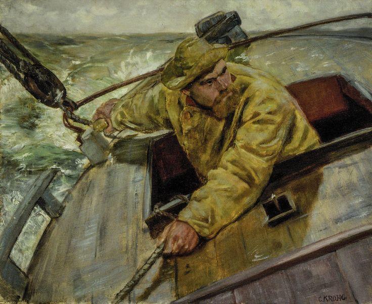 https://flic.kr/p/V5kSTD | Christian Krohg - Hardt le, 1882 at National Museum of Art Oslo Norway | Christian Krohg - Hardt le, 1882 at National Museum of Art Oslo Norway