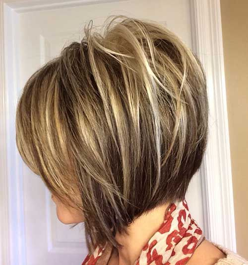 Highlighted-Inverted-Bob-Hair » New Medium Hairstyles