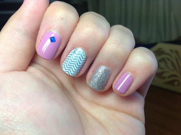 zig zag #nails #nailart #nailpolish #nailsaddict