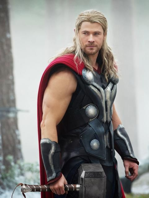 If a gorgeous god is your type, then Thor is for you.
