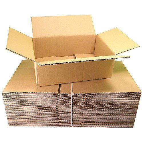 Versandkarton Karton Set Gr��e S4 klein 20 St�ck 300x210x100 mm 1-wellig 30 x 21 x 10 cm