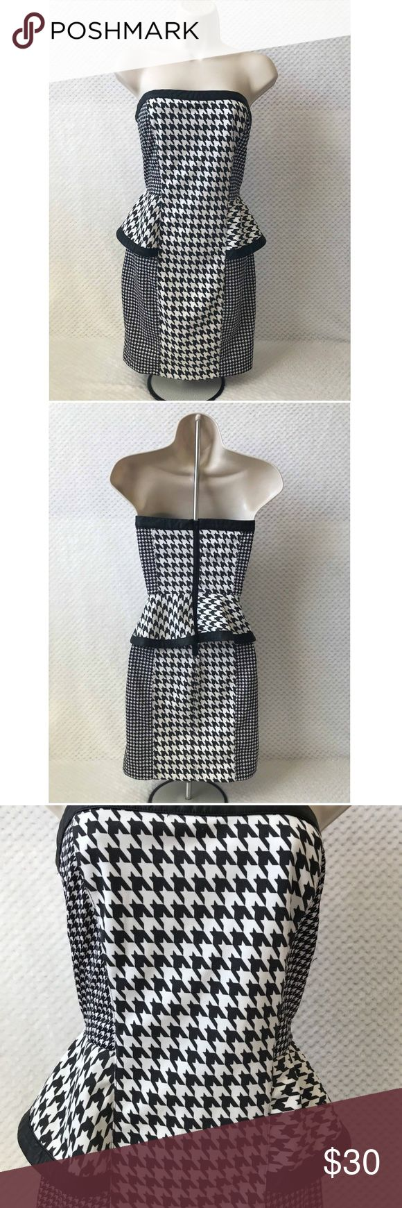 NEW Do & Be Black / White Dress Houndstooth Design You are purchasing a NEW Do & Be Black / White Dress Design NWT  Perfect for casual wear or the night out! Very Sexy!  Size: Medium / Med / M Color: Black and White Brand: Do Be / Do & Be Condition: NEW / NWT  Beautiful Black & White Houndstooth Design  You can't go wrong with this NEW Do & Be Black / White Dress Design NWT!  All offers considered!! Do & Be Dresses Mini