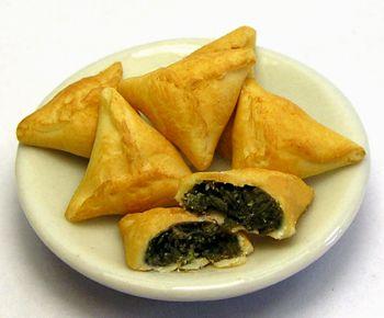 Greek spinach pies