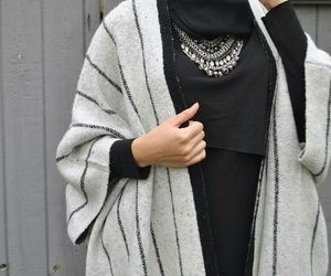Pinterest: @eighthhorcruxx. Cozy | Abaya | Monochrome