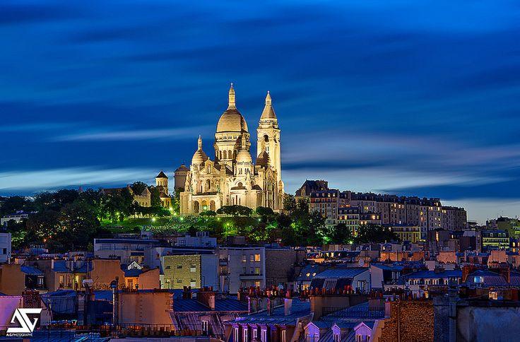 Sacré Coeur - Paris (Anthony Gelot)