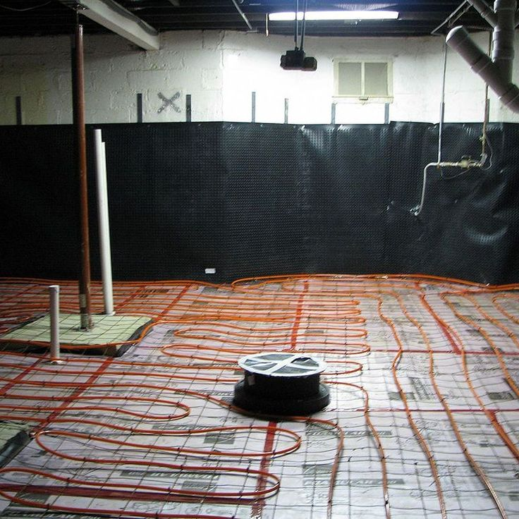 Basement Subfloor Options For Dry Warm Floors: Safe Room, Panic Rooms And Concrete Ceiling