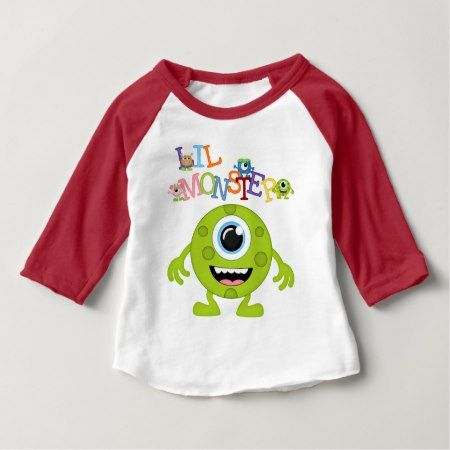 Unisex Monster baby fun t-shirt - tap, personalize, buy right now!