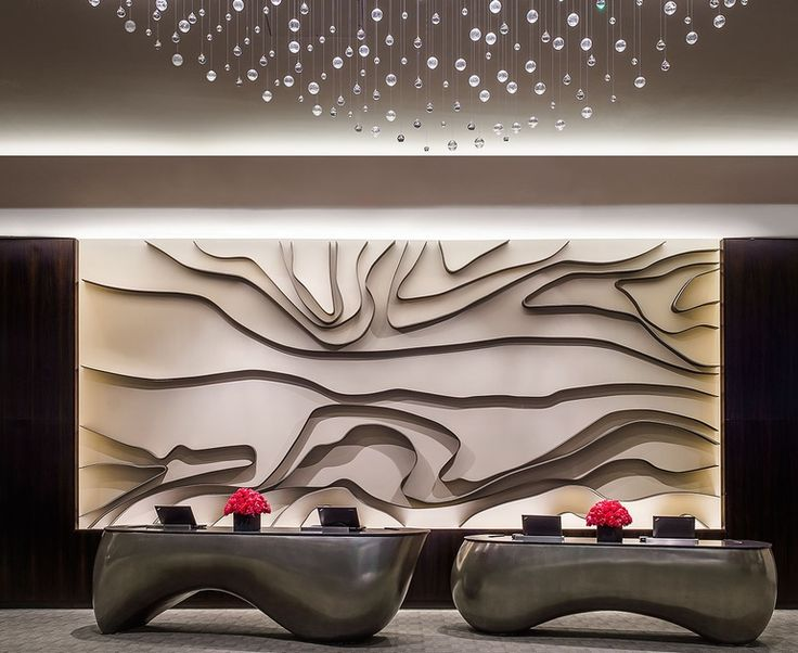 1925 best wall design images on pinterest wall design for Hotel reception design