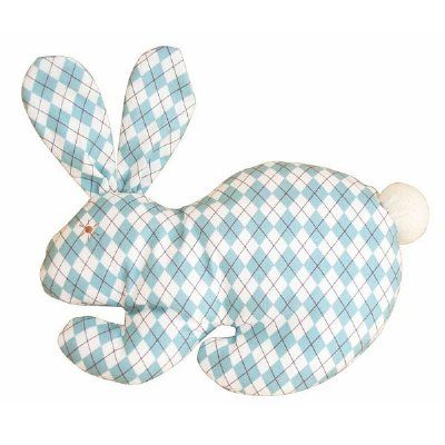This adorable flat bunny from Alimrose is perfect for little hands. Ideal for holding, squeezing and chewing. Makes a lovely gift addition for any new bub. Measures 23cm x 21cm.