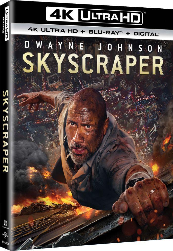 Skyscraper (4K, Blu-ray)   My Bluray Collection in 2019   Blu ray