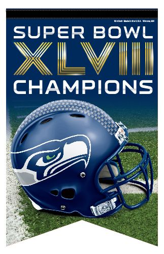 Seattle Seahawks Super Bowl Champions Posters, Pennants, Banners What others are saying