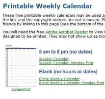 Calendar Templates For Business Owners and Workers #business #calenders http://earnings.remmont.com/calendar-templates-for-business-owners-and-workers-business-calenders-3/  #business calenders # Calendar Templates for Business Vertex42 Weekly Calendar. Vertex42 Weekly Calendar For use in Microsoft Excel, The Calendar Nexus provides downloads of a few different formats including a format with hours and dates and one with no hours or dates. Use for any year. More Marketing Calendar Template…