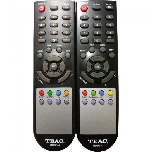 Teac Brand New Original Remote Control For Set Top Box Model Hdb842 Hdb843 Hdb43