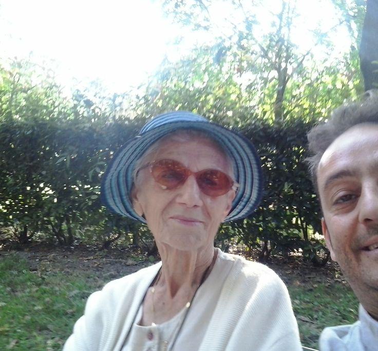 sweet old lady