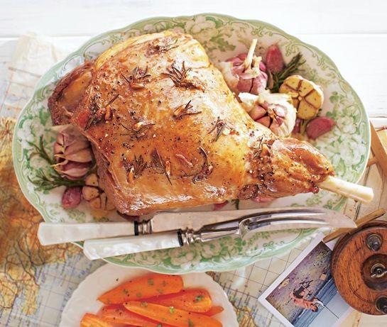 Roasted lamb with garlic | ASDA Recipes