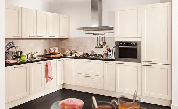 Witte Keuken Kastjes : Collectie Keuken Anillio #softmagnolia # ...