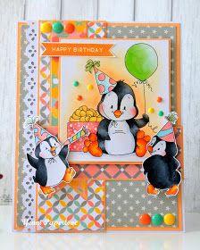 Yenni Paper Love : Whimsy Stamp : Happy Birthday