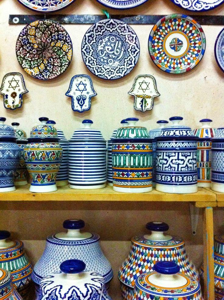 pottery shop morocco