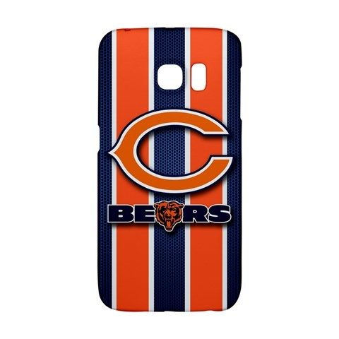 Chicago Bears Logo Samsung Galaxy S6 EDGE Case Wrap Around