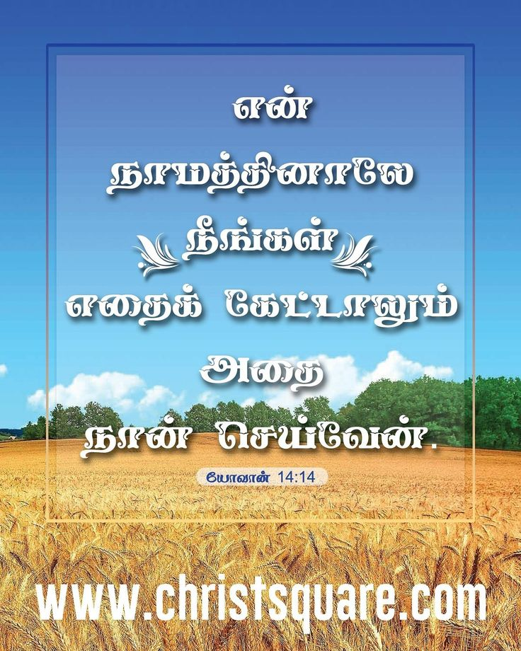 Tamil Christian wallpapers, Tamil Bible, Tamil Bible Verse ...