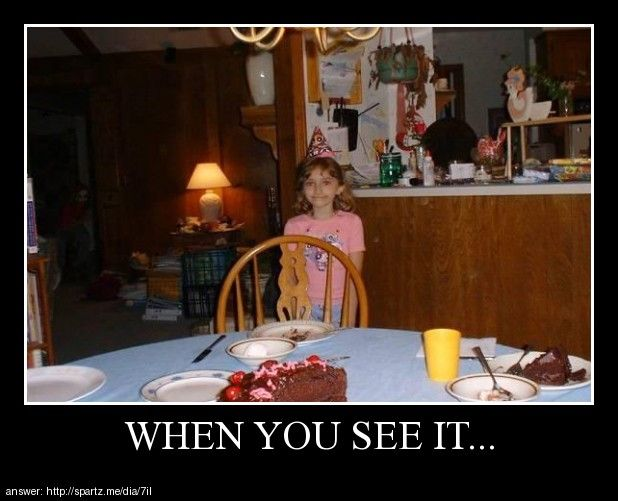 when you see it creepy | Posters - When You See It...haha thing in dark area on left!