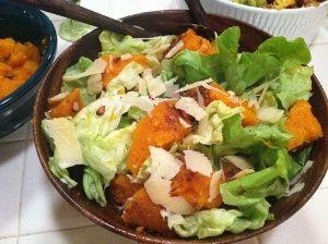 Butternut Squash Salad gluton free