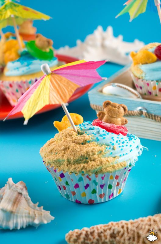 Summertime is known for adventures, pool parties, and outdoor fun. So what better way to accompany these fun times than with colorfully delicious (and absurdly cute) treats to reflect the season. Teddy...