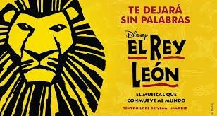 SORTEO 2 ENTRADAS MUSICAL REY LEÓN (MADRID)