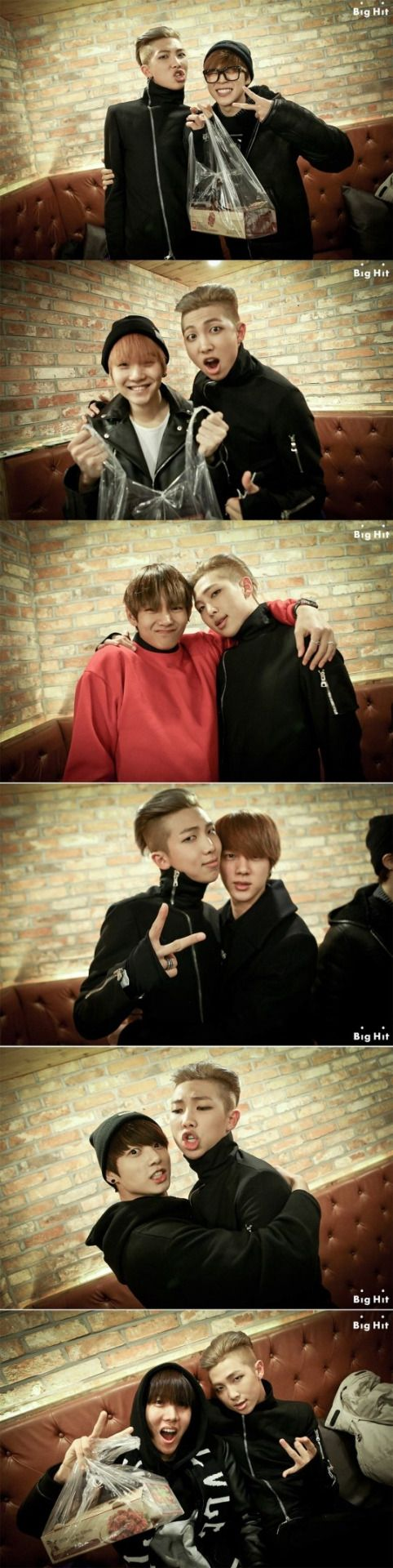 BTS behind the scenes of Rap Mons Do You!!