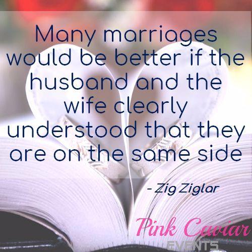 Marriage Advice - #marriageadvice #marriagetips #relationships #wisdom #marriage #qotd #quote #quotes #zigziglar https://pinkcaviar.com.au