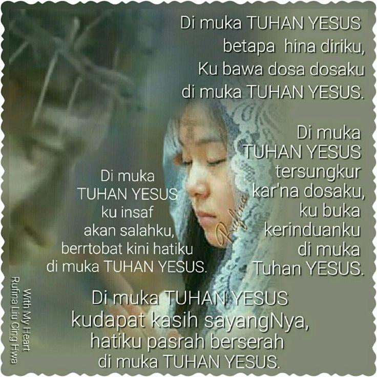 """✿*´¨)*With My Heart 💐🌼 ¸.•*¸.• ✿´¨).• ✿¨) (¸.•´*(¸.•´*(.✿ GOOD NIGHT....GBU ~  Mazmur 32:5 (TB)  Dosaku kuberitahukan kepada-Mu dan kesalahanku tidaklah kusembunyikan; aku berkata: """"Aku akan mengaku kepada TUHAN pelanggaran-pelanggaranku,"""" dan Engkau mengampuni kesalahan karena dosaku."""