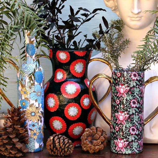 Mark Montano: Paper Vases DIY