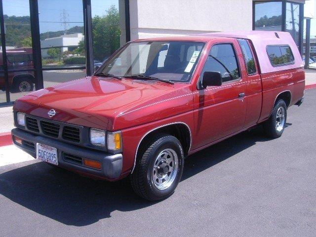 1993 Nissan Truck KingCab Base Truck 2 Doors Red for sale in San rafael, CA http://www.usedcarsgroup.com/sanrafael-ca/1993-nissan-truck-1n6sd16s4pc353293.html