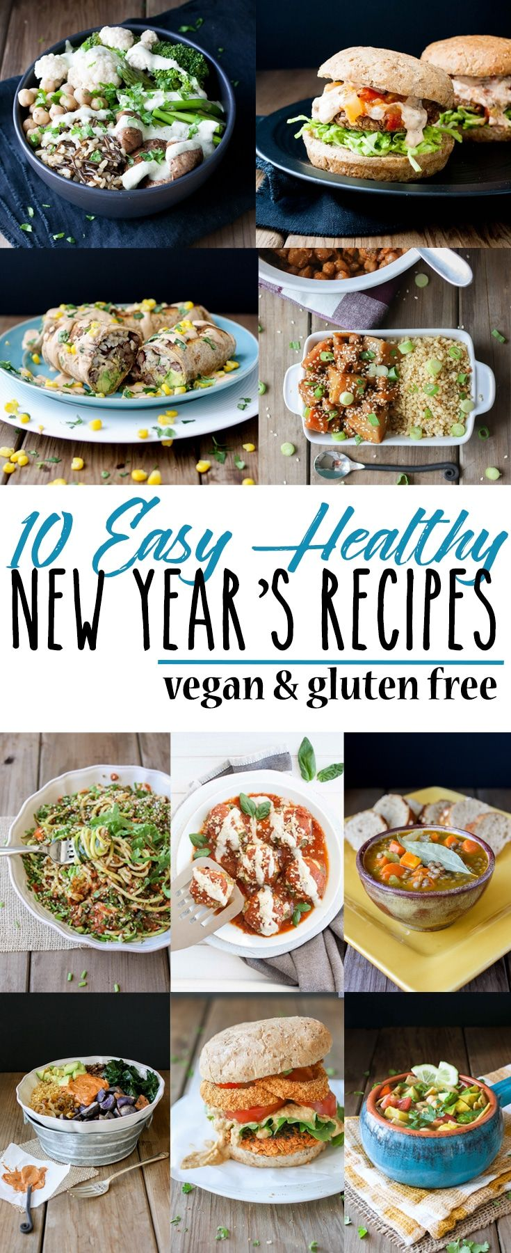 Top 10 Easy Healthy New Years Recipes Vegan Vegan