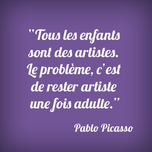#citation #picasso #kids
