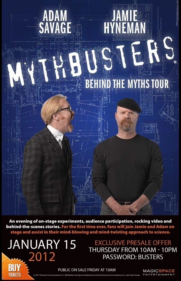267 best mythbusters images on pinterest science fair projects mythbusters tour malvernweather Gallery